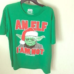 Yoda Christmas Graphic Tee